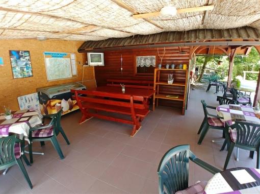 Bar at Camp Vodenca