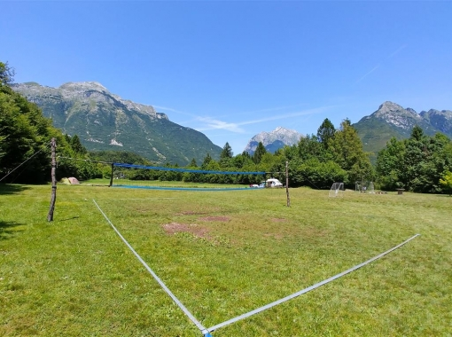 Volleyball at Camp Vodenca