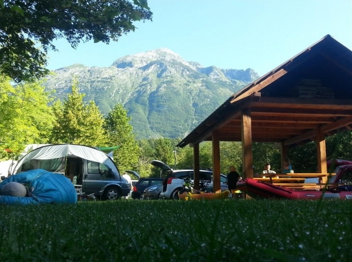 Morning at Camp Vodenca