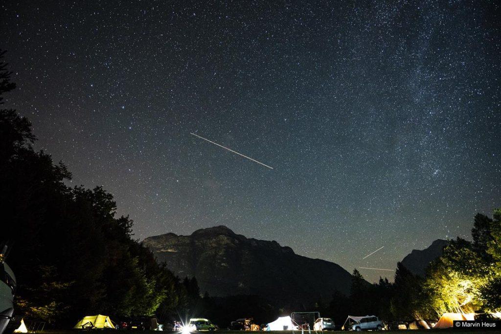 Stars at Camp Vodenca.